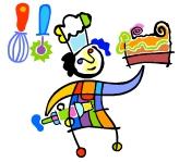 אמא אשת אשכולות אופה עוגה- קורס קונדיטוריה