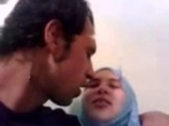 Instead of getting ready for the party, sexy arabian lady and her boyfriend are doing it like crazy