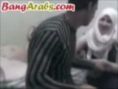 جنس مع بنت كويتية محجبة وممحونة