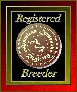 ACR Registered Breeder #557