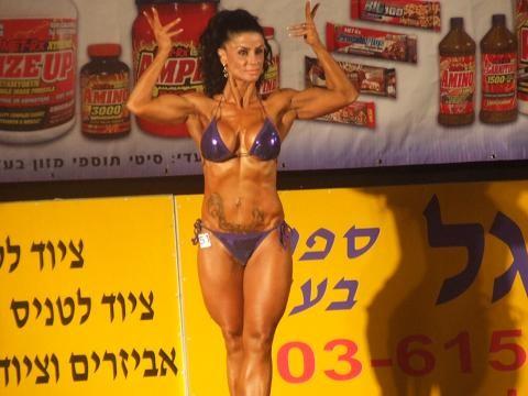 מיס פיטנס 2010, איגוד נאבא, פיתוח גוף נשים
