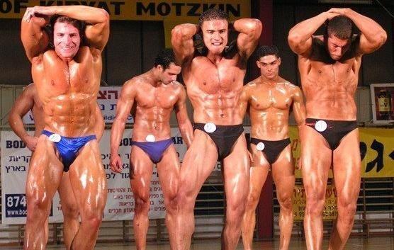 פיתוח גוף, תחרות מר ישראל
