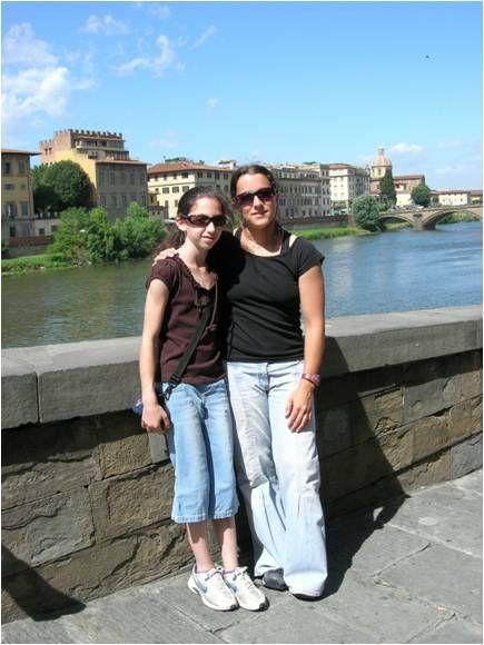 מיה שני ונעם וינוגרד בטיול בפרינצה