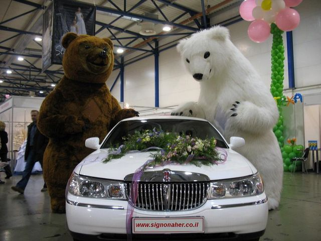 בובות ענק לחתונה