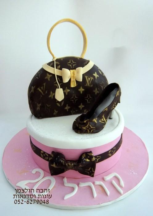 עוגות מעוצבות מבצק סוכר ליום הולדת ילדים ומבוגרים