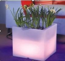 Светящиеся горшки для цветов своими руками 55