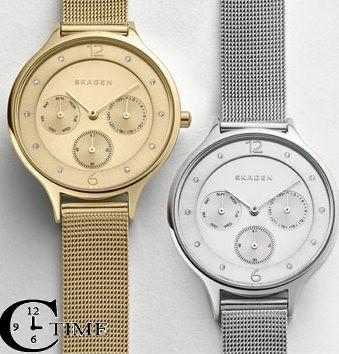שעון יד של חברת סקאגן